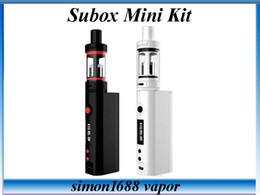 KangerTech Subox Mini Starter Kit Kanger Kbox 50W 18650 Battery Subtank Mini 4.5mL 0.3ohm OCC Subohm E Cigarette Kits