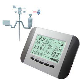 Wholesale Professional Temperature Sensor Range M Wireless Weather Station LCD Digital Multifunction Humidity Rain Pressure Wind Speed Meter