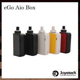 Wholesale Joyetech eGo AIO Box Kit All in one System ml Capacity mah Battery Innovative Anti leaking Structure Child Lock Original