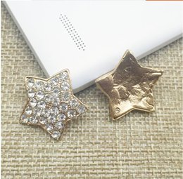 Fancy rhinestone brooch with pearls adorned DIY hair accessories pin material fashion jewelry accessories 12pcs lot MYQB076