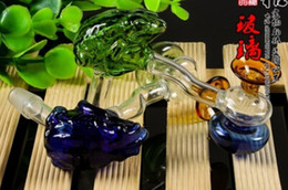 Glass water pipes of a full set of accessories frog funnel G