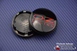 Wholesale Exterior Accessories Emblems mm vw cc gold Magotan Tiguan SAGITAR Wheel Center Cap Hub Cap Emblem FOR Replaced Rims quot OZ
