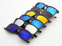 6colors Personalized sports sunglasses men riding glasses sunglasses color film