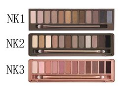Wholesale Hot Eyeshadow Palette The st nd rd Generation Makeup Newest Colors Cosmetic Shimmer Matte Eye Shadow With Brush M301 H120