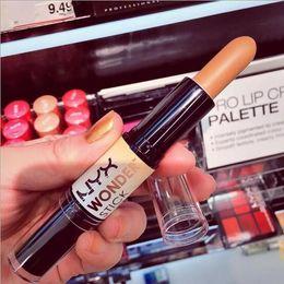 Wholesale High quality NYX Wonder Stick WS01 Light WS02 Medium WS03 Deep WS04 Universal Highlight Contour Stick Face makeup DHL