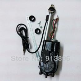 Wholesale Universal car radio antenna car electrical auto lift remote control aerial FM AM pc car radio antenna
