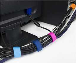Wholesale Multicolor computer manage line with finishing tape line belt binding wire thread winding machine Cable wire wrapper
