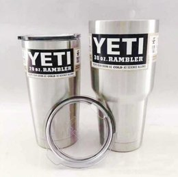 Wholesale 30oz Yeti Cups Cooler Stainless Steel oz YETI Rambler Tumbler Cup Car Vehicle Beer Mugs Double Wall Bilayer Vacuum best quality