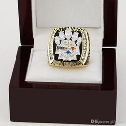 Wholesale 2008 Pittsburgh National Football Steelers sale replica super bowl championship rings Copper ring men jewelry high quality