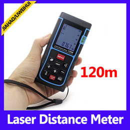 SW-E120m distance meter laser measuring device laser range finder with retail packing 10pcs lot