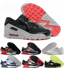 Wholesale 2016 Hot Sale Max Running Shoes Men Women Max90 High Quality New Sneakers Cheap Black Roses Men s Sports Shoes Air
