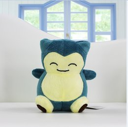 Plush Toy snorlax plush 15cm Cute Soft Stuffed Animal Doll Kid Gift High Quality Free Shipping