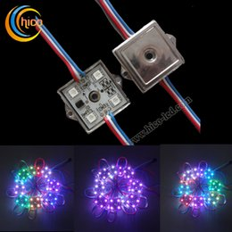 Wholesale 5050 LED Module RGB LED module With IC WS2801 LPD6803S Outdoor IP65 Waterproof For Advertising Channel Letter