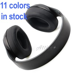 Wholesale Bass Headphones Control Talk Wireless headphones Over Ear Headset studio wireless stereo headphones Dj Headphone retail box