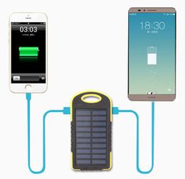 8000mAh Солнечный банк питания зарядное устройство 8000 мАч панели солнечных батарей двойной зарядки Порты портативный банк силы для всех сотовых телефонов таблица PC MP3 от Производители портативное зарядное устройство панель солнечной батареи