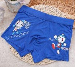 Wholesale Kids underwear Spring and summer cute doll printing machine bamboo fiber underwear boys