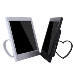 Wholesale 10 quot LED screen digital photo frame inch high definition PX Support video player