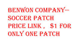 Wholesale Benwon Soccer patch price link for only one patch men s soccer uniform women s football jerseys kid s soccer sets football patches