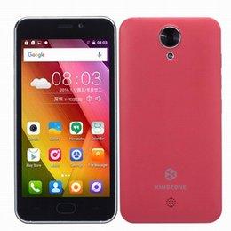 Wholesale New G WCDMA Kingzone S2 MTK6580 Quad Core GB GB Android Lollipop inch IPS HD GPS WiFi FM MP Camera Smartphone Free DHL