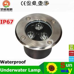 Wholesale W W W W W W W LED Underground Light W LED underground lamp AC85 V Waterpoof led underground