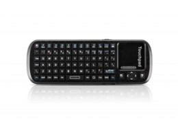 Wholesale Bluetooth Handheld QWERTY gaming keyboard touchpad wireless keyboard for Windows Linux Mac OS Android Google Smart TV keyboard amp
