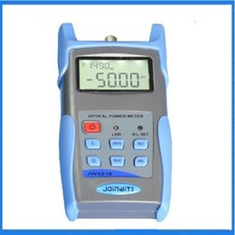 Wholesale Handheld Fiber Optic Power Meter JW3216 Recognition Of USB Communication Wavelength Data Storage Is Background Software