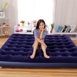 Wholesale Best Sleeping Pad Air Pads High Quality Plus Size Mattress Camping Hiking Sleeping Pads Outdoor Air Mattress Beds for Multisports
