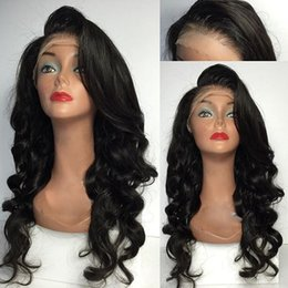 Wholesale Curly Remy Hair For Sale - Hot Sale Body Wave Full Lace Human Hair Wigs   Lace Front Wigs Baby Hair 8A Top Quality Unprocessed Brazilian Wig For Black Women