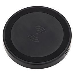 Promotion chargeur lumia Gros-Livraison gratuite rond noir Qi chargeur sans fil de recharge Pad Pour Nokia Lumia 1520 1020 930 920 Nexus 5 6 7