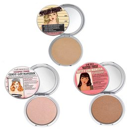 Wholesale Makeup Mary Lou Betty Lou Cindy Lou Manizer Highlight Shimmer Face Pressed Powder Foundation Palette Cosmetic