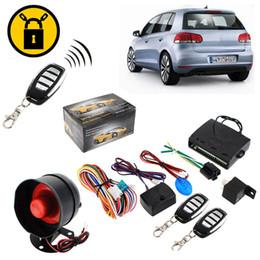 Sistema de alarma a distancia un coche en Línea-Coche sistema de alarma de seguridad del coche de alarma de protección del sistema de entrada sin llave Siren 2 de la alarma teledirigida de ladrón del CAL_601