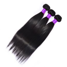 8A Brazilian Virgin Hair Straight 1 Bundle Brazilian Mink Brazilian Hair Extensions Straight Hair Bundles Unprocessed Hair Weave Wholesale