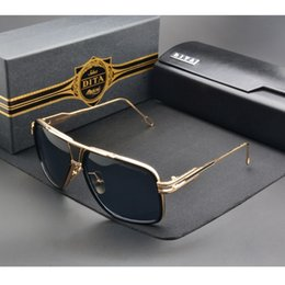 Wholesale Dita Sunglasses Men New Unisex Dita Grandmaster Five Sunglasses Women Brand Designer Sun Glasses Men Vintage Sunglass with case and box