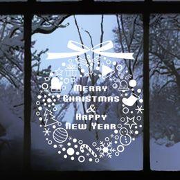 Wholesale Christmas Decoration Articulos De Navidad Decal Window Stickers Home Decor Enfeites De Natal Christmas Decorations For Home