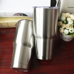 Wholesale Free Cups Cooler Stainless Steel Rambler Tumbler Cup Car Vehicle Beer Mugs Vacuum Insulated Refly ml OEM Growler For Yeti