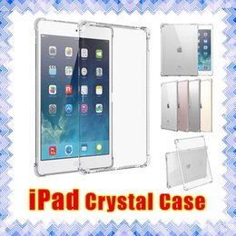 Wholesale High Quality Crystal Clear Transparent Soft TPU Sillicone Shockproof iPad Mini Air Pro Back Protective case Cover