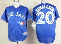 Wholesale 2016 New Cheap Josh Donaldson Jerseys Toronto Blue Jays Baseball Jerseys Blue Red Gray Josh Donaldson Cool Base Stitched Jersey