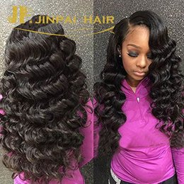Wholesale Cheap Quality Malaysian Hair - Cheap Brazilian Virgin Hair Extensions 100% Wavy Brazilian Peruvian Malaysian Loose Deep Wave Remy Human Hair Weaves Weft 8A Top Quality