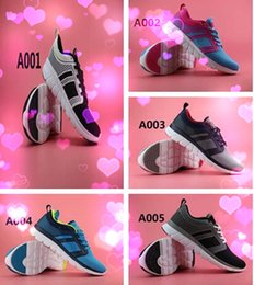 Wholesale NEO Cloudfoam Groove Running Sheos Summer New Flat Lace Up Shoes Fashion Breathable Running Shoes