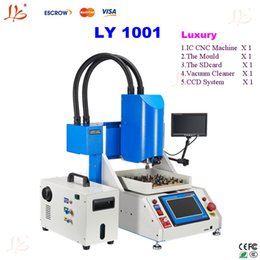 Wholesale Luxury pack LY professional automatic IC router CNC polishing machine for iPhone main board repair