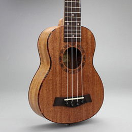 "21-5 21"" Ukulele Mahogany Acoustic guitar Rosewood Fretboard 4-strings guitarra musical instruments Wholesale"