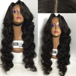 8A Grade Full Density Glueless Wig Brazilian Human Hair wigs Full Lace Wig In Natural Baby Hair Hairline Lace Front Wig