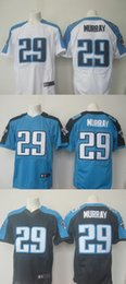 Wholesale New product football jerseys DeMarco Murray white blue deep blue stitched can football jerseys embroidery Mix Order