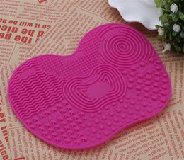 Wholesale Hot Selling BRUSH CLEANING MAT Chuck Scrubbing Pad The New Wash Pad Makeup Brush To Clean Pad