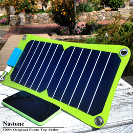 Wholesale 2016 New solar charger W High efficiency outdoor solar charger solar panel charger For Mobilephone Power Bank MP3 Free ship