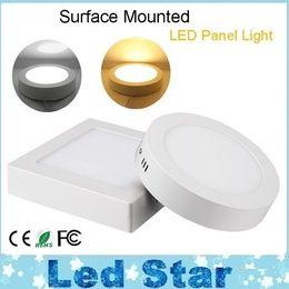 Поверхность панели для продажи-Накладные панели СИД 9W 15W 25W Dimmable светодиодные светильники Ванная комната освещения кухни AC 110-240V + Драйверы