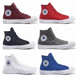 Wholesale 2016 Original Chuck Tay Lor All Star II Shoes For Mens Woman Brand Sneakers Casual High Top Classic Running Skateboarding Canvas