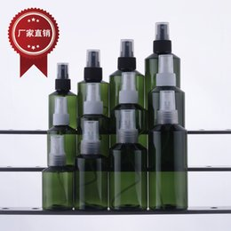 50ml 100ml 150ml 200ml Empty PET Plastic Spray Bottle Perfume spray bottle packing containers Latex bottle free shipping