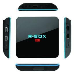 Wholesale R box Pro Amlogic S912 gb gb Android Smart TV Box Fully Loaded Kodi Octa Core H K Streaming Media Player New Arrivals