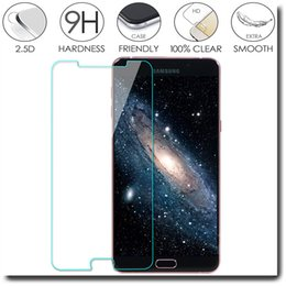 Wholesale 0 mm D Tempered Glass Film Screen Protector for Samsung Galaxy A3 A5 A7 A8 A9 A3100 A5100 A7100 A9100 Without Retail Packaging